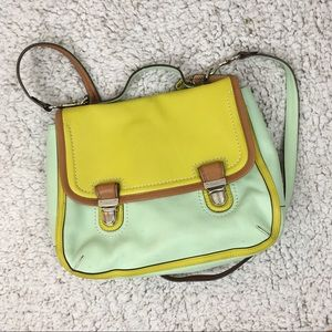 Coach Bag Satchel Neon Blush GUC Purse Crossbody